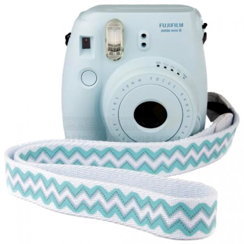 fujifilm instax mini 8 polaroid camera blue mystery gift. Black Bedroom Furniture Sets. Home Design Ideas