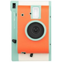 Lomo'Instant (Orange-Teal Special Edition) + FREE Closeup Lens +FREE Extra Color Gel
