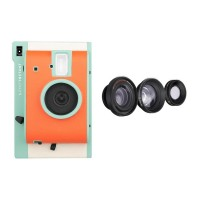 Lomo'Instant (Orange-Teal Special Edition) + 3 Lenses +FREE Extra Color Gel