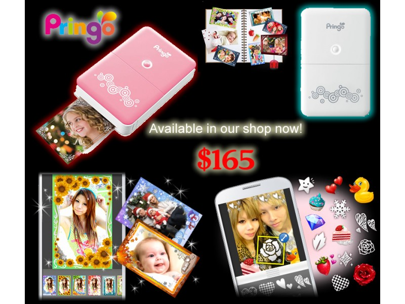 Hiti Pringo Portable Card Size Photo Printer