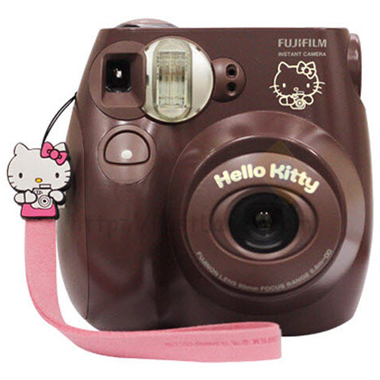 fujifilm instax mini 7s hello kitty gift set choco. Black Bedroom Furniture Sets. Home Design Ideas